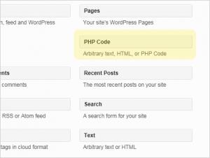 Execute PHP code in WordPress text widget box