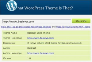3 ways to find WordPress theme name website is using