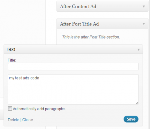Show Adsense ads after Post Title & Contents in Genesis Theme