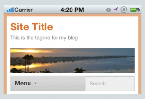 How to create free Mobile theme for WordPress blog