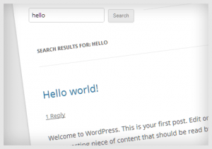 Exclude specific category posts in WordPress search results