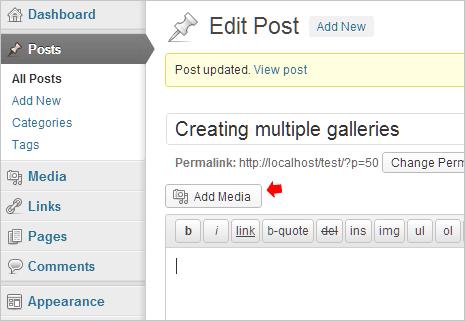 wordpress-add-media