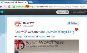 How to embed Vine videos on WordPress blog
