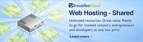 dreamhost hosting wordpress website