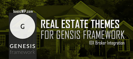 best real estate wordpress child themes for genesis framework