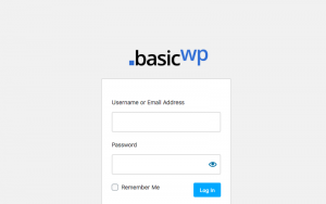 custom login page logo wordpress
